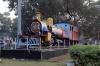 Steam Loco #676 outside Ranchi Jn station