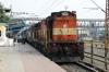 PA WDG3A 13664 waits to depart Dhanbad Jn with 11046 1355 Dhanbad Jn - Kolhapur
