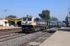 PA WDP4D 40144 runs through Sihora Road with 12150 2250 (P) Patliputra Jn - Pune Jn