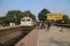 JMP WDP4D 40411 (with SGUJ WDG4D 70413 dit) arrives into Barharwa Jn with 53401 0600 Sahibganj Jn - Malda Town Passenger