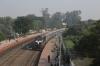 BWN WDM3A 16652 arrives into New Farakka Jn with 13162 0530 Balurghat - Kolkata Chitpur