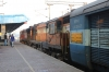 GTL WDM3A's 16752/16600 at Secunderabad with 17022 17022 2100 Guntakal Jn - Hyderabad DN (portion off 17420 0730 Vasco Da Gama - Tirupati split at Guntakal Jn)