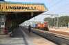 KZJ WDG3A 14888 arrives into Lingampalli with 17009 0650 Bidar - Hyderabad DN