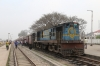 IZN YDM4 6533 at Puranpur with 52208 1330 Mailani Jn - Pilibhit Jn