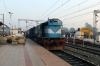 ET WDM3D 11340 at Katni Jn, having just re-engined 22182 1750 (P) Delhi Hazrat Nizamuddin - Jabalpur Jn