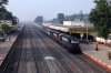 ET WDM3A twins 18825/18581 arrive into Sihora Road with 18233 1715 (P) Indore Jn - Bilaspur Jn