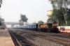 ET WDM3A 18686 at Sihora Road with 51673 0400 Itarsi Jn - Satna Jn