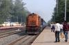 JHS WDM3A 18877 arrives into Sihora Road with 12190 1610 (P) Delhi Hazrat Nizamuddin - Jabalpur Jn