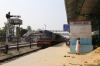 Ex NKE, now IZN YDM4 6715 waits to depart Pilibhit Jn with 52233 1400 Pilibhit Jn - Shahjahanpur Jn