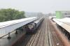 MLDT WDM3A 16634 arrives into Kamakhya Jn with 55819 0700 Mendipathar - Guwahati Jn Passenger