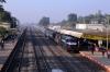 ET WDM3D/WDM3A combo 11462/18593 arrive into Sihora Road with 18233 1715 (P) Indore Jn - Bilaspur Jn
