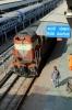 ET WDM3A/WDM3D combo 14100/11277 arrive into Katni Jn with 13201 2330 (P) Rajendranagar - Lokmanya Tilak Terminus