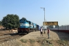 ET WDM3D 11311 at Sihora Road with 22182 1750 (P) Delhi Hazrat Nizamuddin - Jabalpur Jn