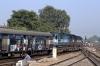 ET WDM3A/WDM3D combo 16487/11319 depart Jabalpur Jn with 12141 2335 (P) Lokmanya Tilak Terminus - Patliputra Jn