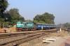 KTE WDM3A 16710 shunts stock at Jabalpur Jn