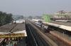 MLDT WDM3A 16467 arrives into Kamakhya Jn with 55801 0450 New Bongaigaon Jn - Guwahati Jn Manas Rhino Passenger