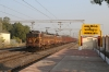 ET WAG5's 23590/23500 pass through Jamikunta with a freight