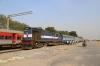 MLY WDM3A 14045 waits to depart Karimnagar with 57602 1420 Karimnagar - Kacheguda