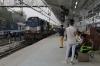 ABR WDM3A 18987 waiting its next turn at Ahmedabad Jn