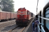 KTE WDG3A 14646 sets off from Adhartal with 12390 0700 (P) Chennai Egmore - Gaya Jn