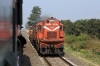 PTRU WDG3A's 13092/13172 run light near Gosalpur, heading towards Jabalpur Jn