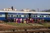 MLDT WDM3A 16078 departs Kamakhya Jn with 55801 0450 New Bongaigaon Jn - Guwahati Jn Manas Rhino Passenger