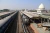 MLDT WDM3A 16518 arrives into Kamakhya Jn with 15769 0405 Alipurduar Jn - Lumding Jn