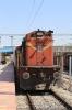 KZJ WDG3A 13201 waits to depart Dharmavaram Jn with 17216 1600 Dharmavaram Jn - Vijayawada Jn