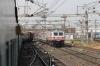 GTL WDM3A's 14013/16600 approach Ahmedabad Jn with 17018 1500 (P) Secunderabad Jn - Rajkot Jn while BRC WAP5 30083 departs with 19028 0930 (P) Jammu Tawi - Bandra Terminus