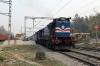 GD WDG3A 13640 departs Alamnagar with 14265 0825 Varanasi Jn - Dehradun