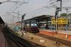 GOC WDM3A 16880 waits to depart Trichy Jn with 18654 0935 Trichy Jn - Chennai Egmore