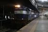 ED WDG3A's 14614/14795 stand at Guntakal Jn with 16340 0630 (P) Nagercoil Jn - Mumbai CST