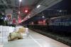 BNDM WDM3A's 16299/16251 at Sambalpur Jn with 18452 2035 (P) Puri - Hatia