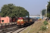 VSKP WDM3A's 18800/18932 at Titlagarh Jn with 18407 2215 (P) Puri - Sainagar Shirdi