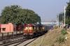 VSKP WDM3A's 18800/18932 at Titlagarh Jn with 18407 2215 (P) Puri - Sainagar Shirdi