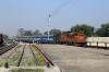 BNDM WDM3D 11221 arrives into Titlagarh Jn with 18301 0605 Sambalpur Jn - Rayagada Jn
