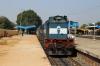 VSKP WDM3D 11569 at Kesinga with 58527 0530 Raipur Jn - Visakhapatnam Jn