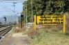 VSKP WDM3D 11537 is prepared, at Lanjigarh Road, to drop onto the rear of 58301 0715 Sambalpur Jn - Koraput; the rear portion of the train would then form 58303 1350 Lanjigarh Road - Junagarh Road