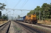 BNDM WDM3D 11146 runs through Lanjigarh Road with 18005 2135 (P) Howrah - Koraput