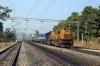 BNDM WDM3D 11146 runs through Lanjigarh Road with 18005 2135 (P) Howrah - Koraput