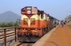 VSKP WDG3A 11537 at Junagarh Road after arrival with 58303 1350 Lanjigarh Road - Junagarh Road