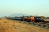 VSKP WDM3D 11537 in the carriage sidings at Junagarh Road after arriving with 58303 1350 Lanjigarh Road - Junagarh Road