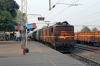 TATA WAG5 23159 about to depart Muri Jn with 58661 1130 Tatanagar - Hatia