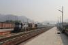 HWH WDM3D/WDM3A twins 11441/14137 at Kamakhya Jn with 15960 1825 (P) Dibrugarh - Howrah Kamrup Express