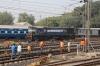 VTA WDM3A 18863 on shunting duty at Ahmedabad Jn
