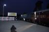 IZN YDM4 6686 waits to depart Tanakpur with 15314 0600 Tanakpur - Aishbagh