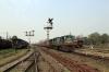 IZN YDM4 6552 departs Pilibhit Jn with 52229 0630 Shahjahanpur - Tanakpur