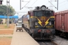 VSKP WAG5 23517 at Palasa with 58418 0625 Gunupur - Puri; having replaced VSKP WDG3A 14602 as train engine