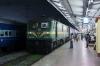 LGD WAG9 31146 waits departure from Puri with 58408 1745 Puri - Khurda Road