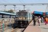 MGS WAG7 28291 at Ranchi Jn after arrival with 53335 0700 Dhanbad Jn - Ranchi Jn